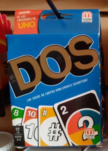 juego de cartas dos