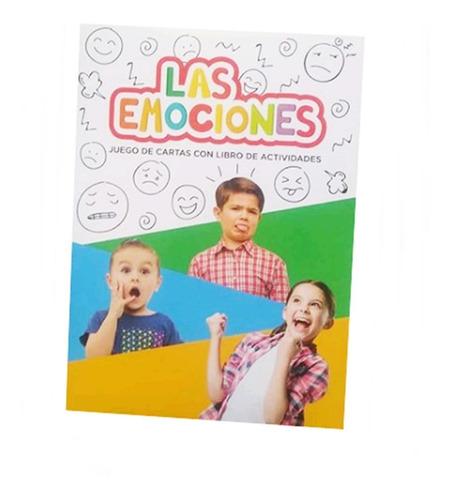juego de cartas + libro d actividades las emociones