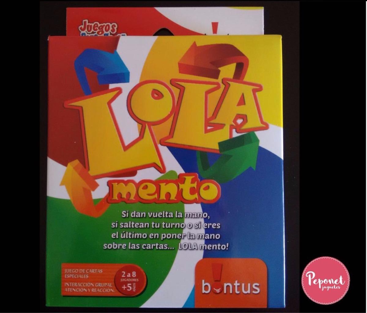 Juego De Cartas Lola Mento 100 00 En Mercado Libre
