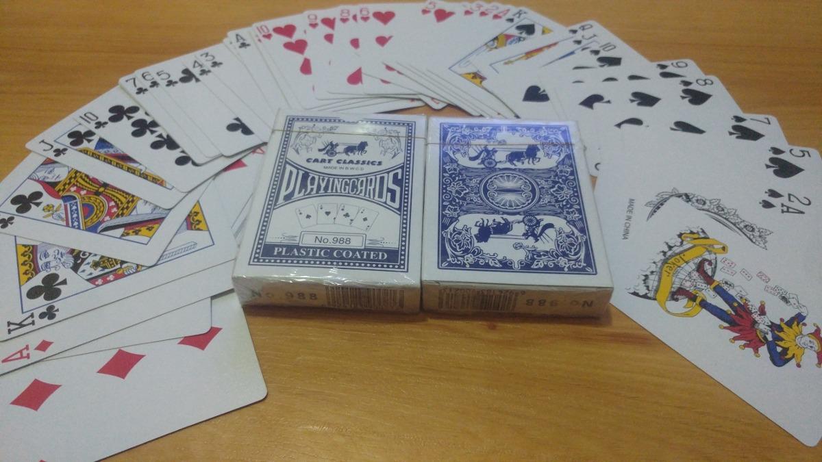 Juego De Cartas Naipes Bs 3 500 00 En Mercado Libre