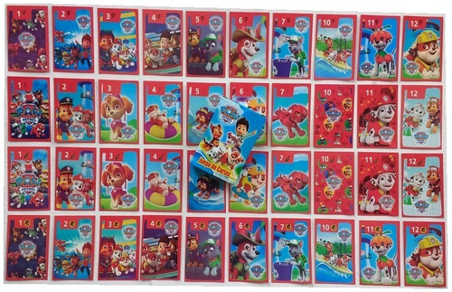 juego de cartas naipes infantil pack x 60 mazos diverti toys