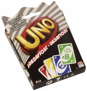 juego de cartas uno  atrevete original de mattel