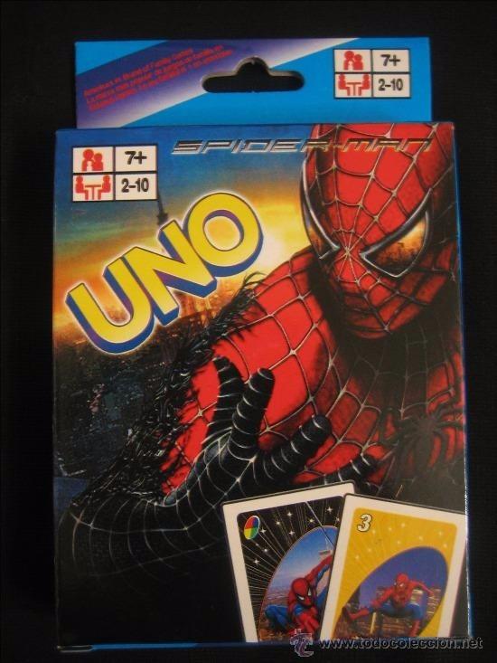 Juego De Cartas Uno De Spiderman Hombre Araa Para Nios  Bs
