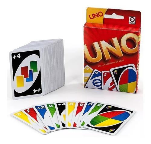 juego de cartas uno mattel original ruibal