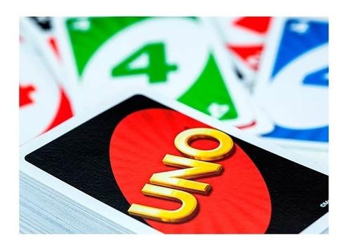 juego de cartas uno ruibal - mattel envío full