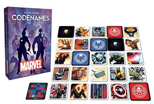juego de cartas usaopoly marvel codenames
