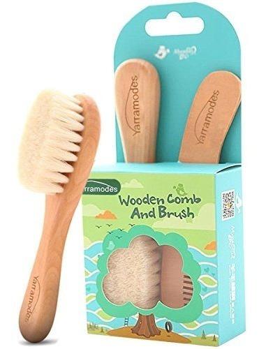 juego de cepillo y peine para bebé cepillo para el pelo de b