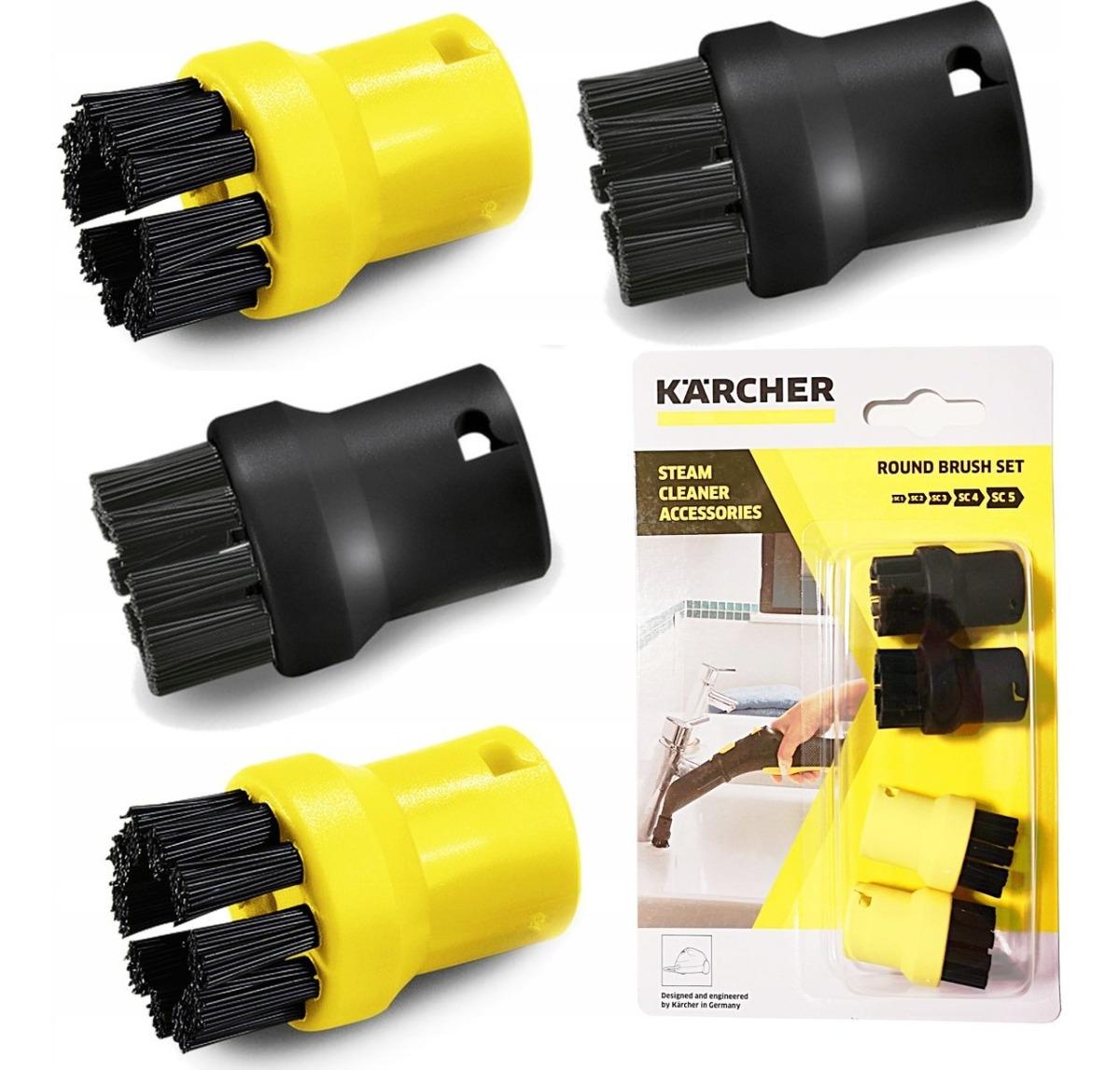 4 un. K/ärcher Kit de cepillos redondos 2.863-264.0