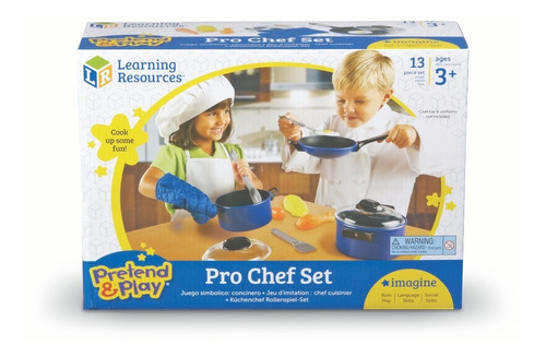 juego de chef pretend & play