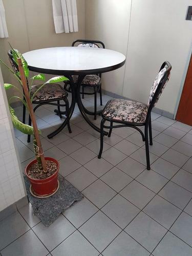 juego de cocina comedor simet: mesa y  3 sillas