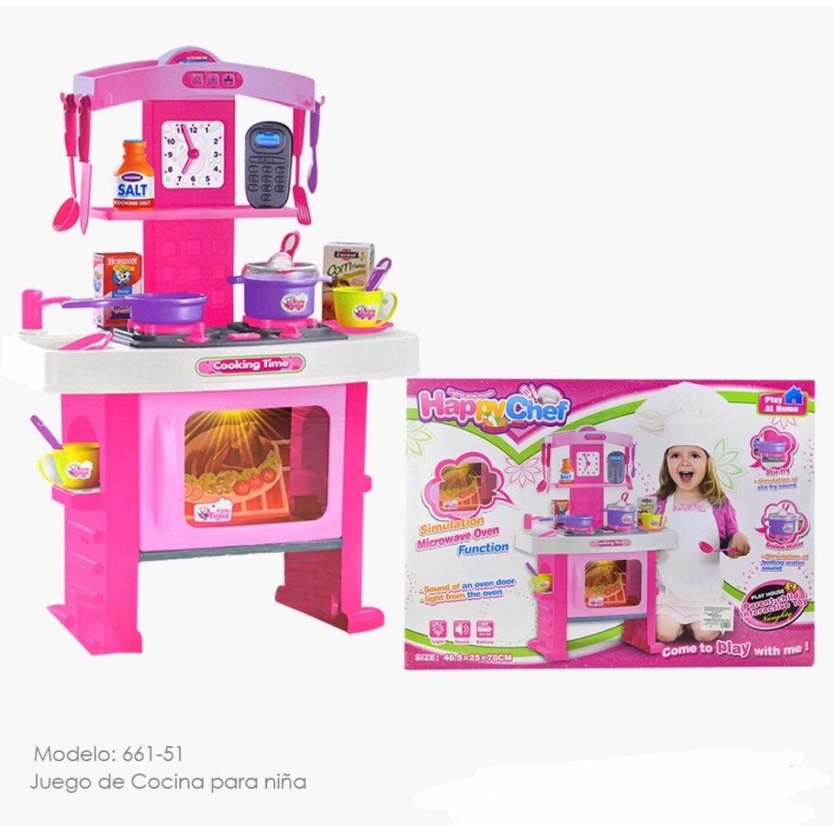 Juego De Cocina Para Nina 599 00 En Mercado Libre