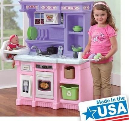 Juego De Cocina Para Nias Little Tikesimportadas 1199900