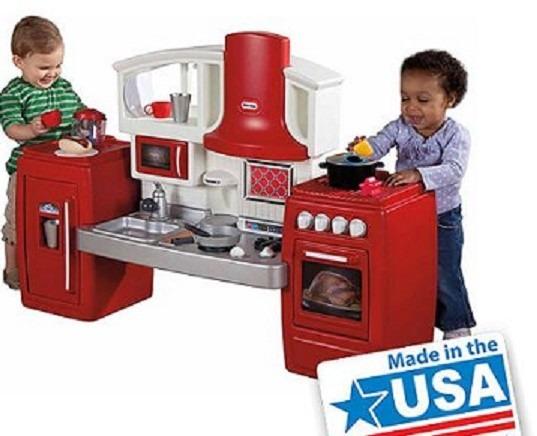 Juego de cocina para ni os little tikes importadas for Ju3gos de cocina