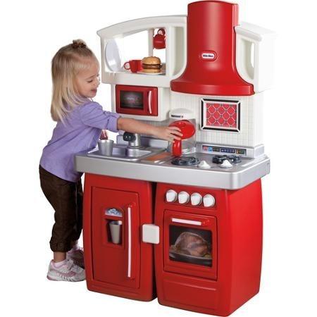 Cocinas Para Niños | Juego De Cocina Para Ninos Little Tikes Importadas 866 000