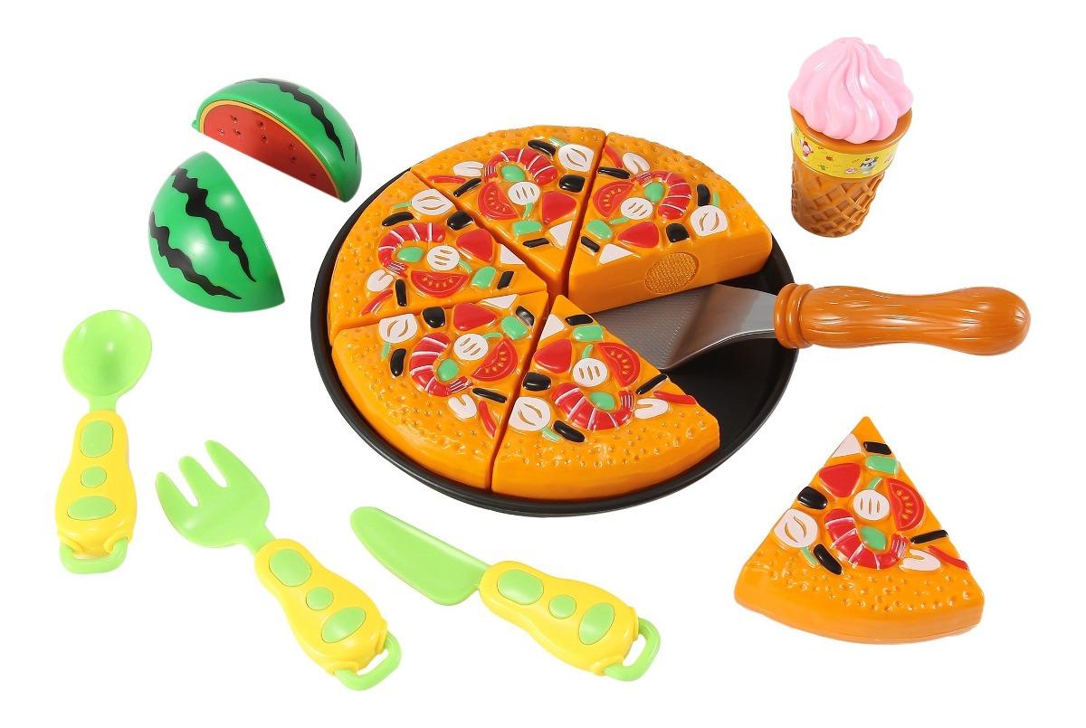 Juego De Cocina Pizza Kitchen Juego Para Ninos Con 6 Re