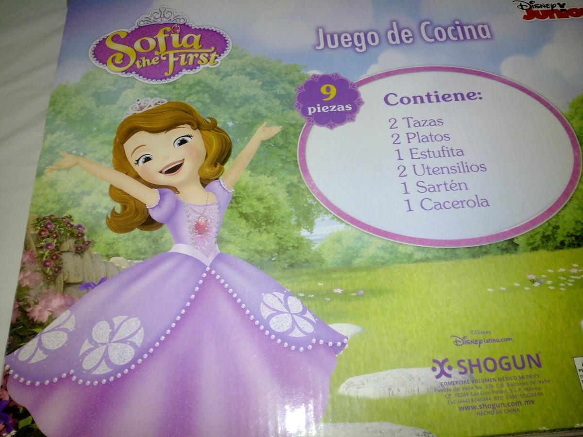 juego de cocina princesita sofia original disney 230 00 en
