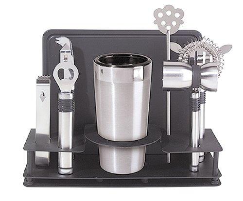 juego de cocteleria shaker oggi original 10 piezas acero