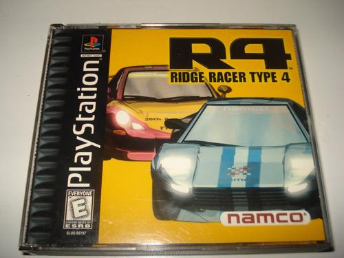 juego de coleccion ridge racer type 4 playstation one
