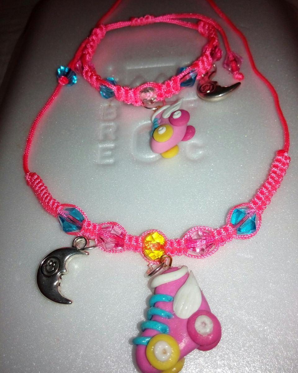 d38ee2650506 juego de collar y pulsera para niñas. Cargando zoom.
