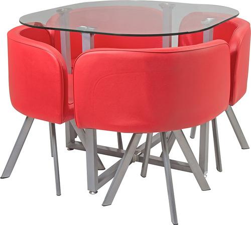 juego de comedor 1 mesa 4 sillas divino