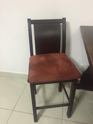 juego de comedor 3 sillas