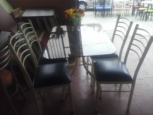 juego de comedor 4 sillas con mesa 1.00 x 0.70 ( nuevo )
