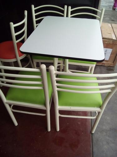 juego de comedor 4 sillas mas mesa delivery gratis