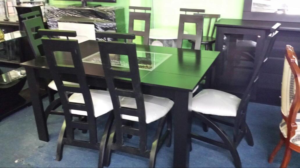 Juego de comedor 6 sillas bs en mercado for Juego de comedor 6 sillas