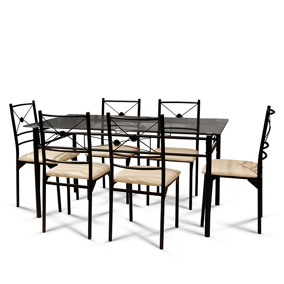 Juego de comedor 6 sillas s 550 00 en mercado libre for Juego de comedor 6 sillas