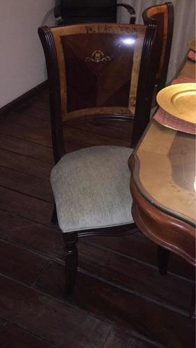juego de comedor 6 sillas