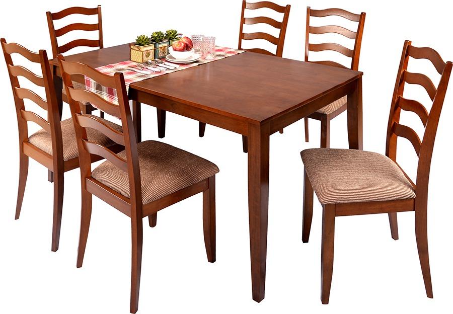 Juego de comedor 6 sillas comedores divino for Comedores 6 sillas