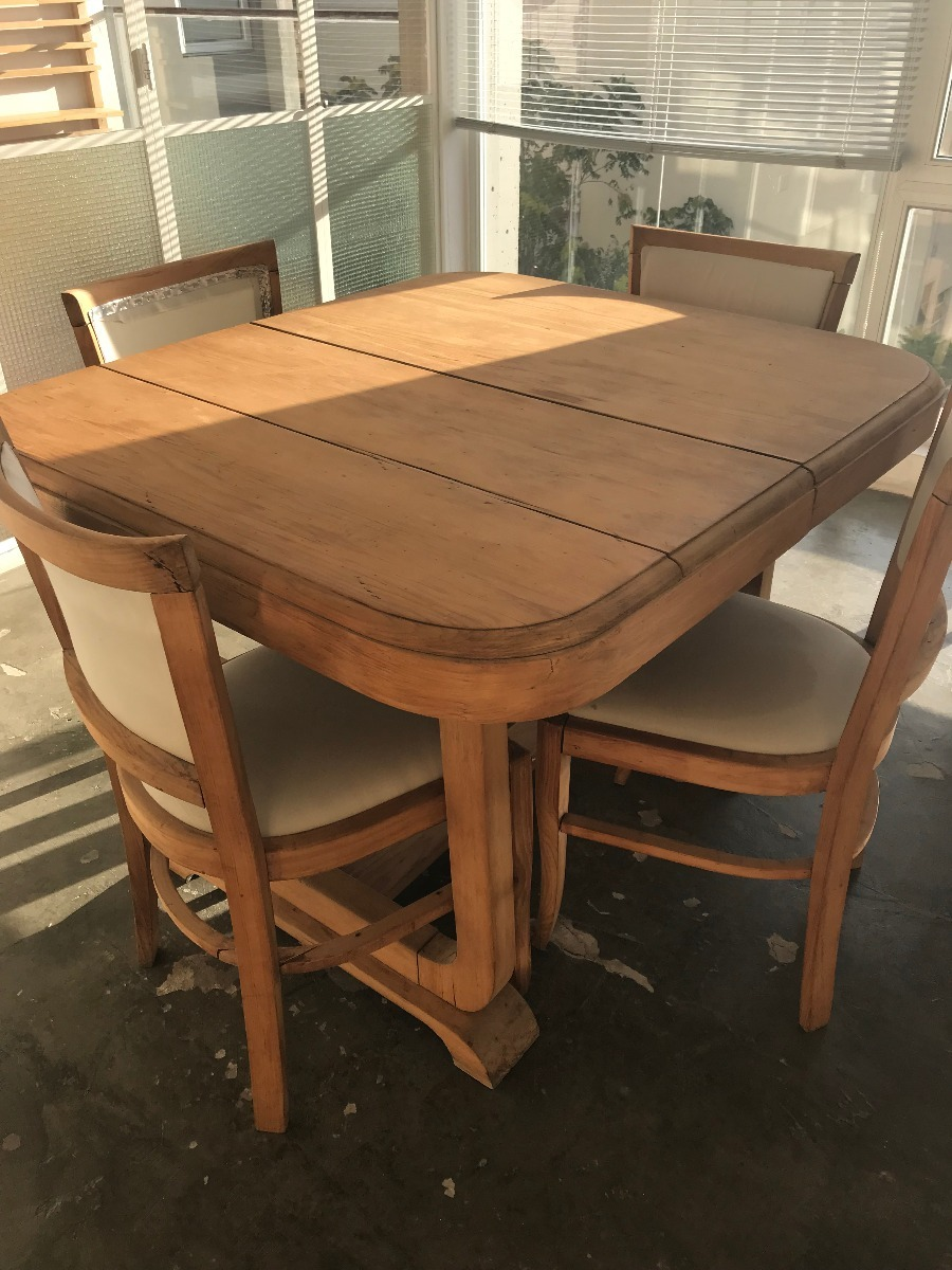 Juego De Comedor Antiguo Para Restaurar Muebles Antiguos En  # Muebles Viejos Para Restaurar Baratos