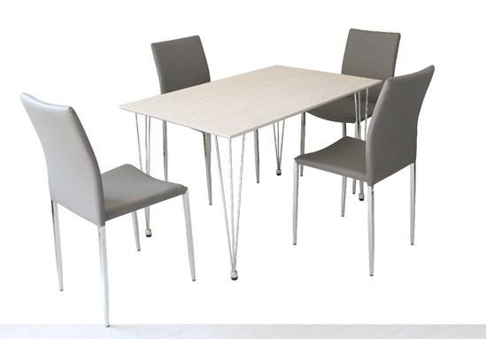 Mesa de 90 y sillas comedor - Juego de comedor segunda mano ...