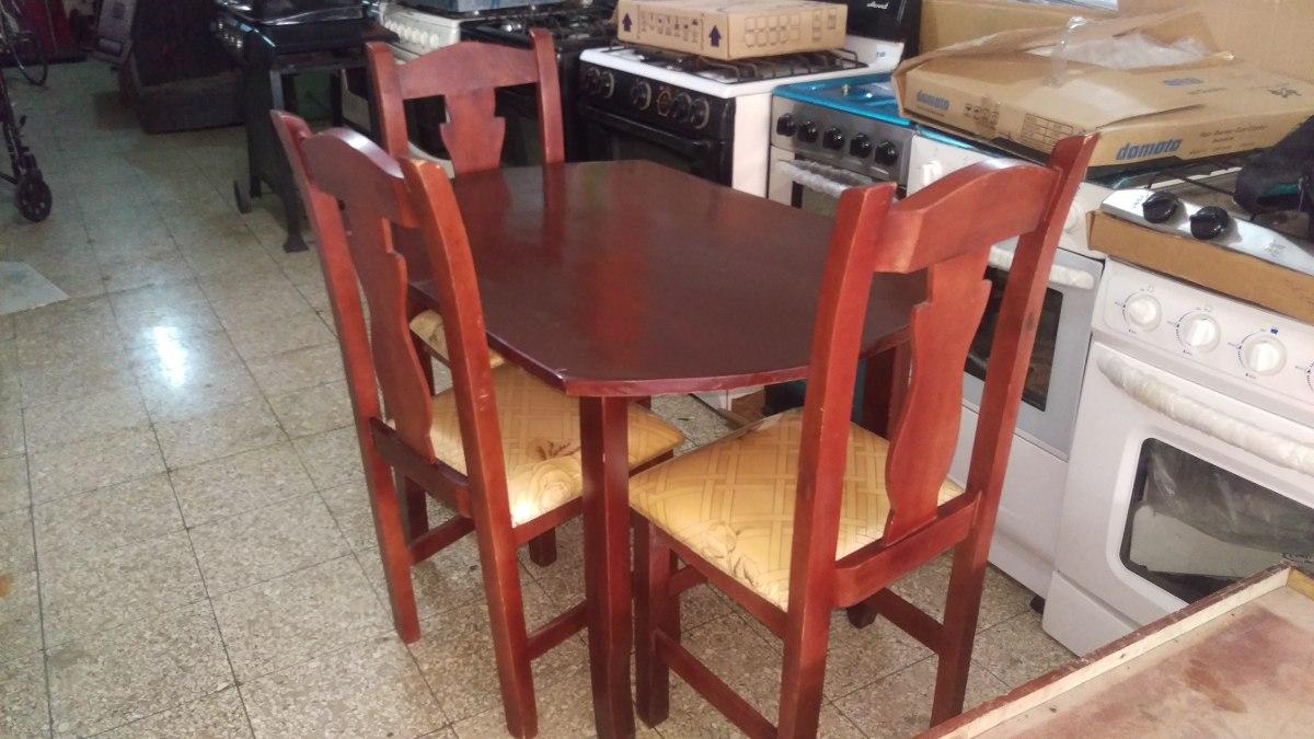 Juego de comedor con 4 y 6 sillas 6 en mercado for Juego de 6 sillas para comedor
