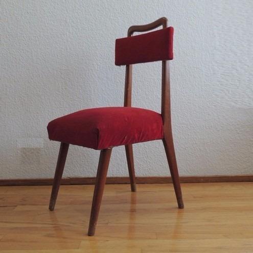 Juego de comedor con 6 sillas estilo dan s vintage a os for Precio juego de comedor con 6 sillas
