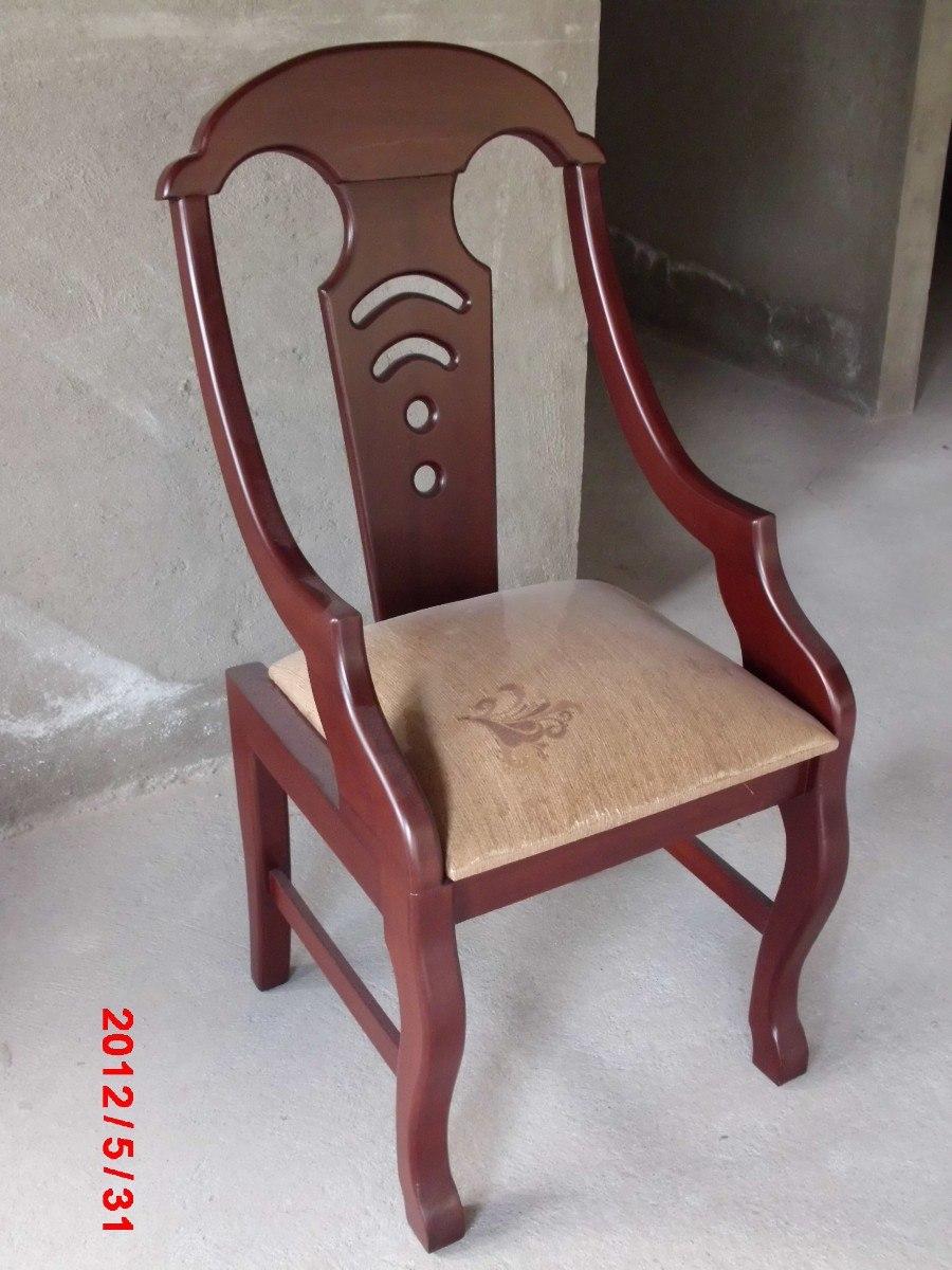Juego de comedor con silla de brazo u s 399 00 en for Tapizar sillas precio