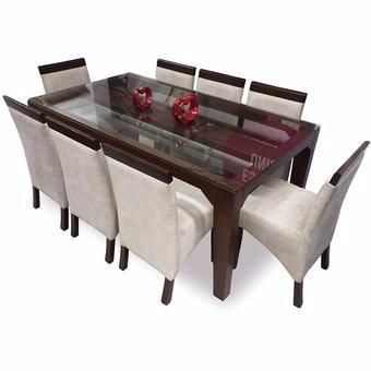 Juego de comedor copeta 8 sillas s en mercado for Juego comedor pequea o