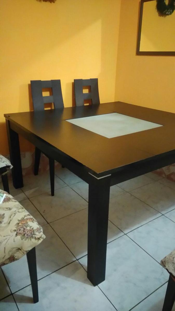 Juego De Comedor De 8 Silla Cuadrado1.40 X 1.40 Barato - U$S 600,00 ...