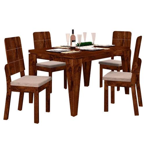 juego de comedor de dise o 4 sillas tapizadas en oferta
