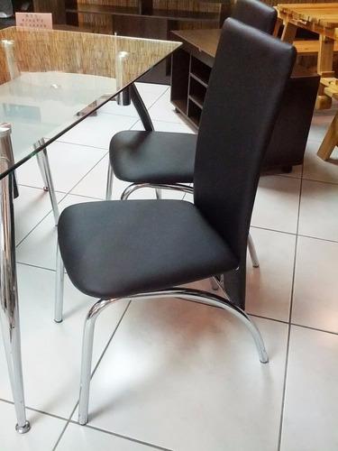 juego de comedor eifel con 4 sillas