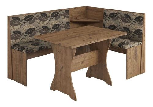 juego de comedor esquinero mesas sillas tapizadas canto big