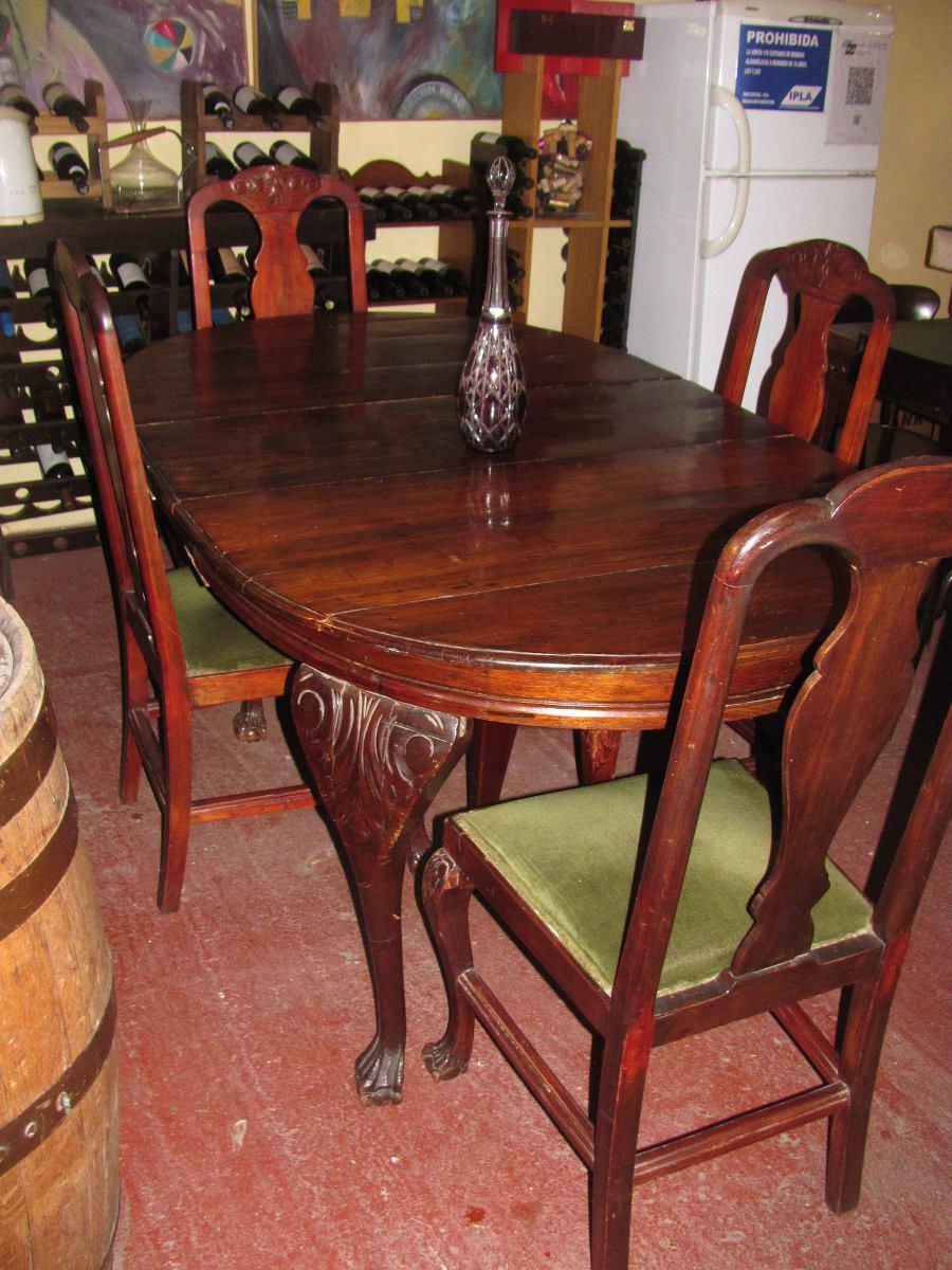 Estilos de muebles antiguos muebles antiguos de estilo - Sillas chippendale ...