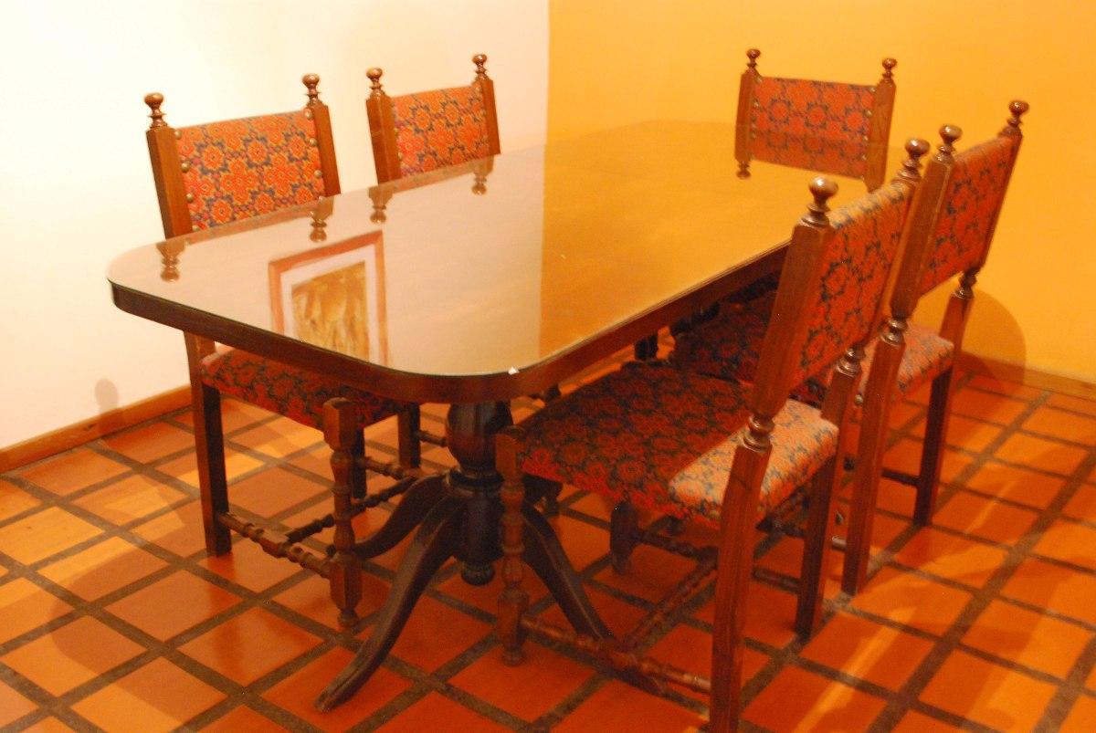 Sillas Estilo Colonial En Mercado Libre Argentina # Muebles Toibero Santa Fe
