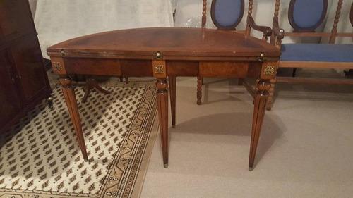 juego de comedor estilo frances luisxvi mesa,sillas