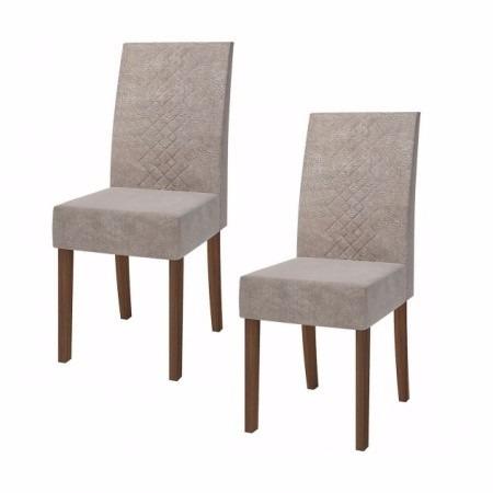 Juego de comedor madera 4 sillas bordadas nogal texturado for Juego de comedor 4 sillas madera