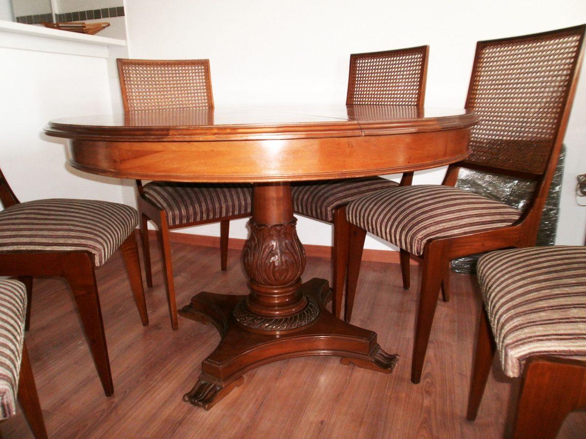 Juego de comedor madera cedro 6 sillas mesa nuevo de for Comedor de madera
