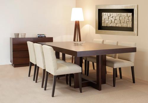 juego de comedor mesa 180x100 6 sillas forbidan muebles