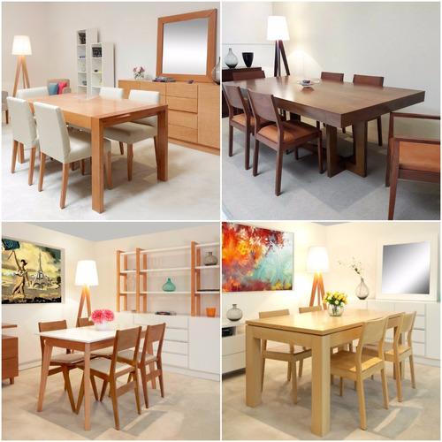 juego de comedor mesa 4 sillas forbidan muebles