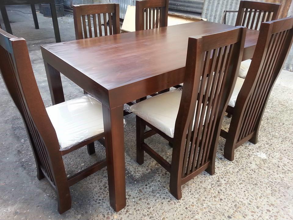 Mesa y sillas de comedor baratas mesas y sillas tienda for Sillas tapizadas baratas