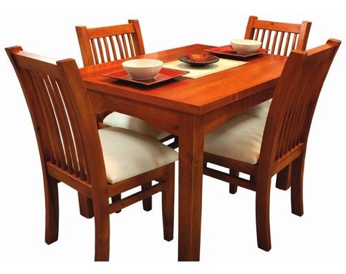 juego de comedor mesa c-4 sillas,12 modelos a elegir gh